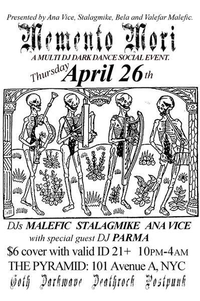 FRONT_April 26th_MementoMori